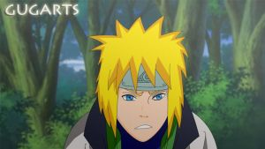 Naruto Father - Yondaime by Gugarts
