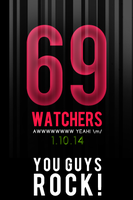69 Watchers :) You guys Rock! by el-Jimmeister