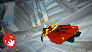 Piranha WipEout HD Fury Vector by spectravideo