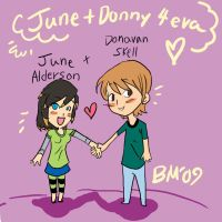 June + Donny ARTREQUEST by Mainframe110