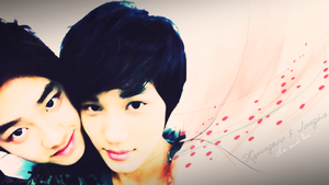 D.O and Kai Request by xTHExFUNNNX