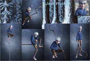 Jack Frost - Cover Page by JackFrostWolf
