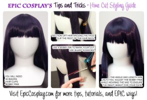 Tips and Tricks - Hime Cut Styling Guide by EpicCosplayWigs