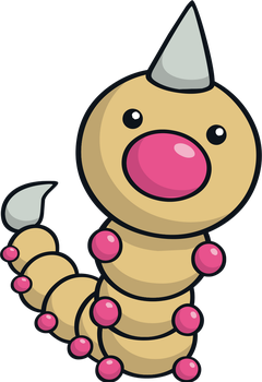 Weedle by MonsterMMORPG