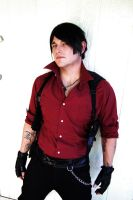 Adam Wong Resident Evil Cosplay by AZWesker