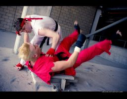 Street Fighter VS Tekken | Take Down by Emzone
