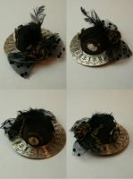 Clockwork fascinator hat by PinkHazard