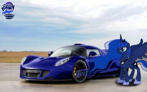 Princess Luna's Hennessey Venom GT by NSDrift