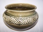 New Celadon Carved Bowl by RenaissanceMan1