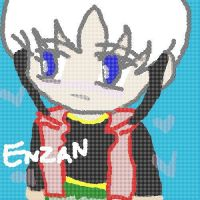 Enzan teh CHIBI by ObsessedLove