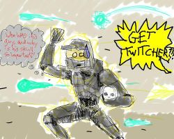 Too Much Halo - Oddball by twitcher