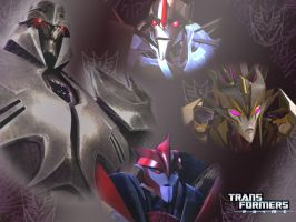 WP_TF Prime Decepticons by Nightcathybrid