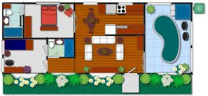Simple home design by Taiya001