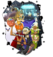 Wakfu Halloween by autodi