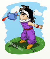 Son Gohan tribute by RMAlexis