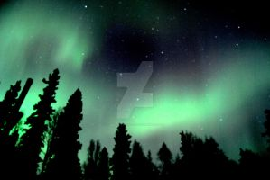Northern Lights: North Pole, AK 04/04/13 Retouch by AKNorthPolar