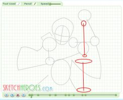 How to Draw Ichigo Part 1 by SketchHeroes