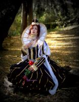 Trinity Blood: Queen Esther Blanchett of Albion by AnnieKane