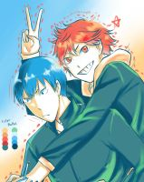 KageHina by 123and456