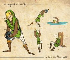 A Link to the Past Wallpaper by jennygreenteeth