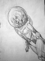 A Space Woman by Dantrelium
