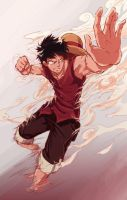 Monkey De Luffy by Robin-Never-No