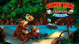 Donkey Kong Country Tropical Freeze - Wide by AleNintendo