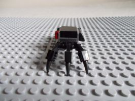 Spider Minebot Left Side View by DanteZX