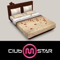MStar Couple Bed by XNAMall