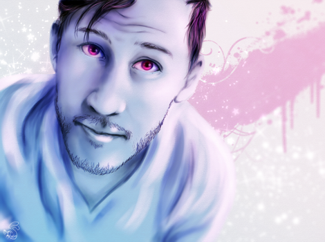 Mark pink n blue by Moony-Bunny