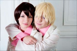 Ouran Host Club: Tamaki and Haru by KandaDream