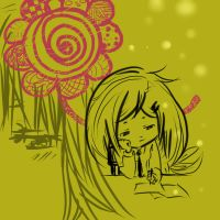 Flower Within Me.. by ChibiCorrine