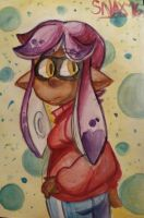 watercolor gilly by snaximation