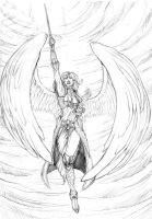 Winged Valkyrie by garro