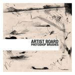 Artist Board Brushes by thesoulcanwait