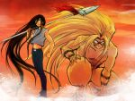 Ushio and Tora by riyancyy777