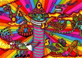 Yellow Submarine style part 2 by Acid-Flo