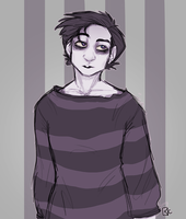 The Best Time to Wear a Striped Sweater by ToLoveaKiwi