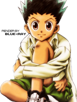 Hunter X Hunter Render by Photoshop-X