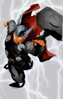 Thor the thunderer by richrow