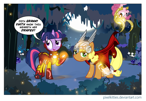Shakespeare in the Everfree by PixelKitties