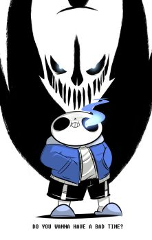 Do You Wanna Have A Bad Time? by Glitch-Whiskers