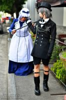 Ciel and Hannah 1 by shutter-puppy