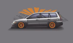lancer evo wip III by depot-hdm