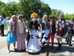 Sakura Matsuri 2012 Group Shot by DeadlyNightshadeX0x