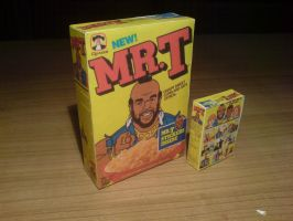 Mr T Cereal by EdMcSmoke