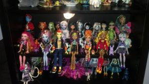 My Monster High Collection 2-3-14 by Bowser14456