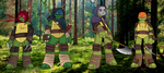 TMNT 2012 Into the Woods by Mutant-Girl013