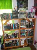 .:My Bookshelf:. by kittygirl20001