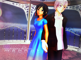 [aph mmd] Fish Pair Magnet by SeySey97